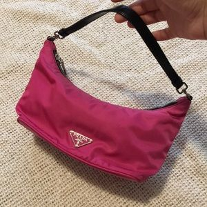 💜Prada Tessuto Sirio Mini Shoulder Bag handbag
